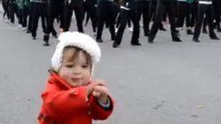 Le Gangnam Style dansé par Eliza Joshua, une adorable petite fille de 23 mois