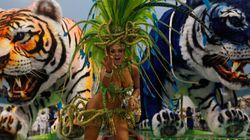 Les 20 photos les plus impressionnantes du carnaval