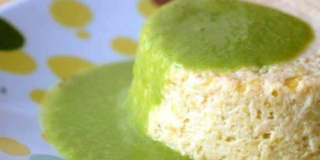 La recette du week-end: flans de poireaux et coulis