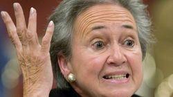 Lise Thibault souhaite la suspension de son