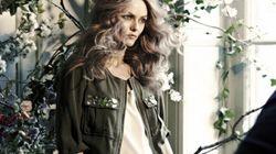 Vanessa Paradis devient l'égérie de H&M