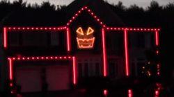 «Gangnam Style»: une maison décorée sur le thème pour l'Halloween
