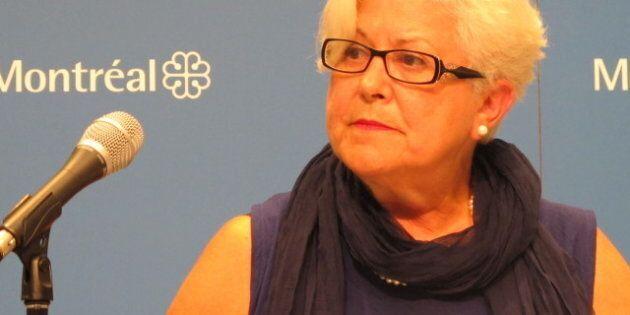 Anie Samson annonce qu'elle quitte Vision Montréal, le parti de Louise