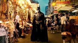 Super-héros «lost in Hong Kong»