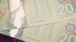 Les nouveaux billets de 20 $ arboreraient une feuille d'érable