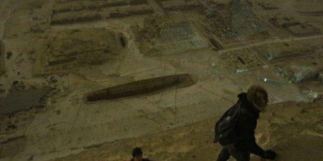 «Skywalking»: des ados russes à l'assaut de la pyramide de Khéops