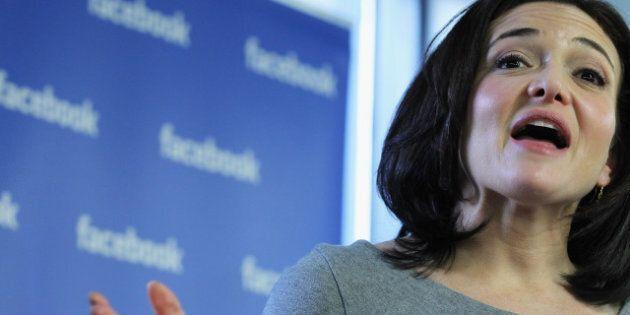 Sheryl Sandberg, la numéro deux de Facebook, publie un manuel de la féministe