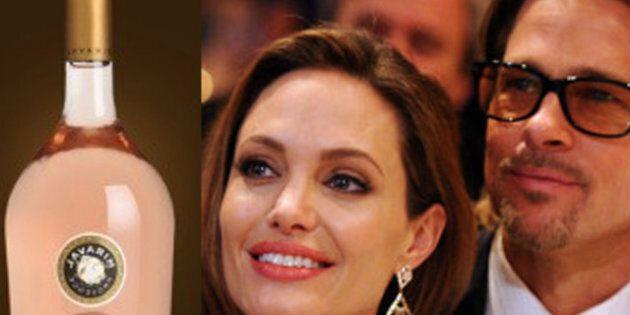 Brad Pitt & Angelina Jolie: leur première cuvée de vin rosé s'arrache sur Internet