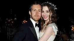 Anne Hathaway, toute de Valentino vêtue pour son mariage!