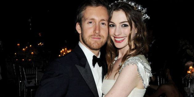Mariage de star: Anne Hathaway marie Adam Shulman en Valentino