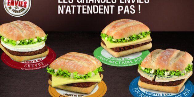 McDonald's lance le burger au camembert après le sandwich baguette