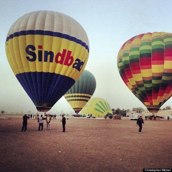 Un accident de montgolfière fait 19 morts en Égypte