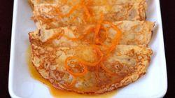 La recette du week-end: crêpes nappées au caramel