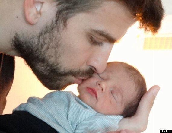 Shakira dévoile la première photo (complète) de son fils Milan Piqué Mebarak