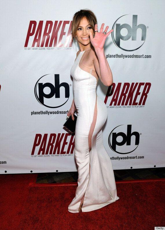 Jennifer Lopez sans sous-vêtements? Cette robe blanche sexy pourrait bien le prouver