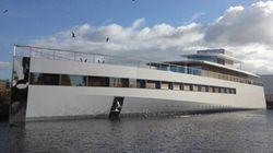 Philippe Starck fait saisir le yacht de Steve Jobs