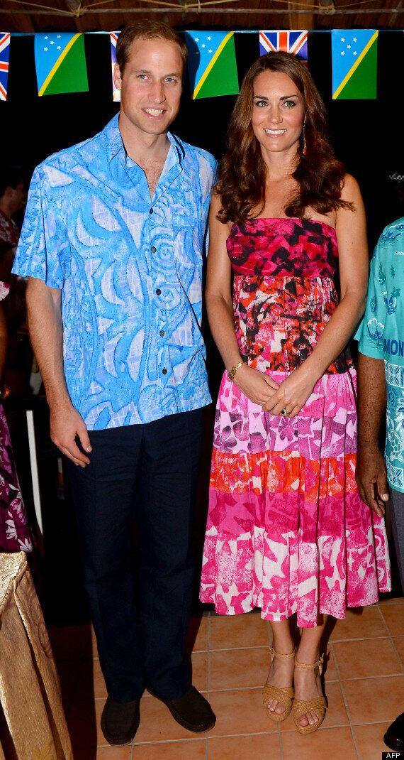 Kate Middleton et le prince William: la robe de la princesse aux îles Salomon fait scandale