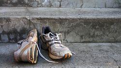Un bon truc pour se débarasser de l'odeur des chaussures