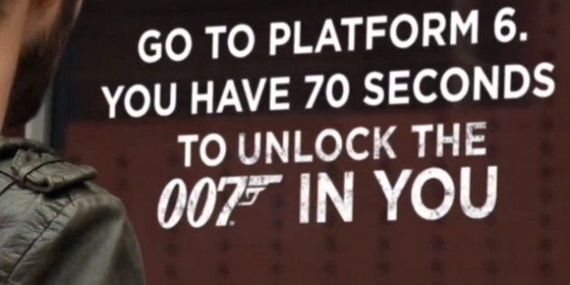 À VOIR: Coca-Cola et Skyfall veulent débloquer le 007 en
