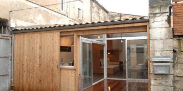 Insolite: un garage transformé en appartement par des architectes français