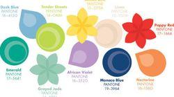 Top 10 des couleurs Pantone du printemps