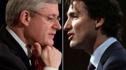 Premier échange Trudeau-Harper au