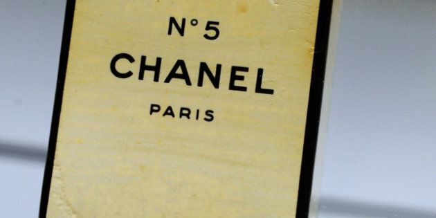 LAS VEGAS - JUNE 24:  An unopened bottle of Chanel No. 5 perfume in its original plastic wrap and box, owned by Marilyn Monroe, is displayed at Julien's Auctions annual summer sale at the Planet Hollywood Resort & Casino June 24, 2010 in Las Vegas, Nevada. The auction, which continues through Sunday, features 1,600 items from entertainers including Michael Jackson, Anna Nicole Smith, Marilyn Monroe, Cher, Elvis Presley and Star Trek creator Gene Roddenberry.  (Photo by Ethan Miller/Getty Images)