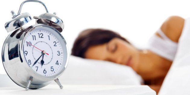 attractive peaceful sleeping...