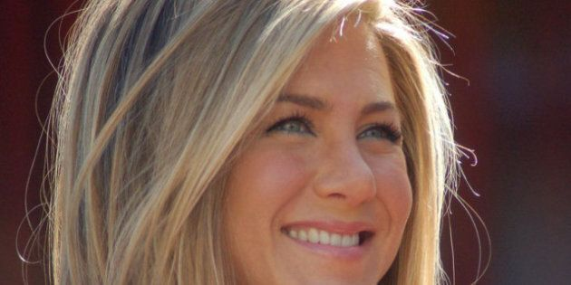 slávy | Hollywoodský chodník slávy .en:Jennifer Aniston | Jennifer Aniston at a ceremony to receive a star on the Hollywood Walk of Fame. | ...