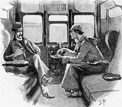 VIDÉOS. Sherlock Holmes: les fans anglais reconstituent la mort du célèbre