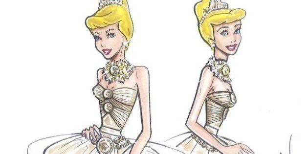 Le grand magasin londonien Harrod's fait relooker les princesses de Disney par des créateurs de