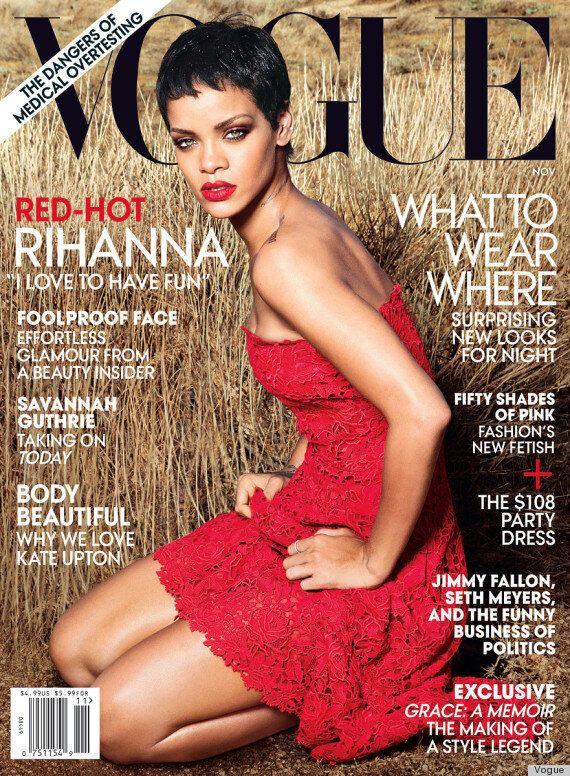 Rihanna fait la couverture du Vogue pour le numéro de novembre