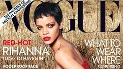 Rihanna sur la couverture du Vogue pour le numéro de novembre