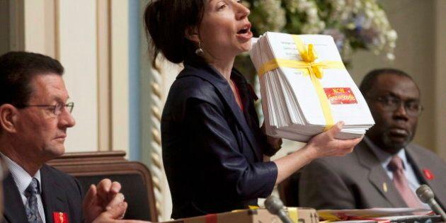 Lettre à Martine Ouellet, ministre des Ressources