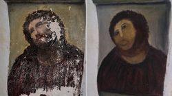 La restauratrice du Christ de Borja demande sa part du