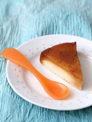 La recette du week-end: gâteau de semoule aux pommes