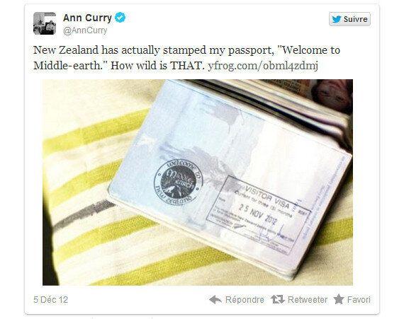 «Hobbit»: la Nouvelle-Zélande en fait la promotion jusque dans les passeports