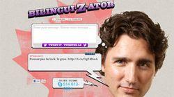 Faites parler Justin Trudeau (bilingue) sur Twitter