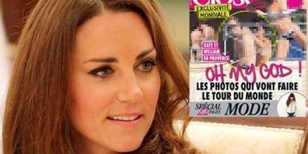 Photos seins nus de Kate: le couple princier va déposer une plainte au