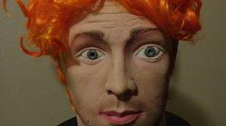 Le masque de James Holmes qui était en vente sur eBay