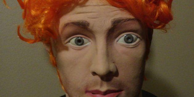 Halloween: un masque du tueur du Colorado James Holmes qui était en vente sur eBay pour