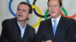 Brésil: l'homme des Jeux olympiques