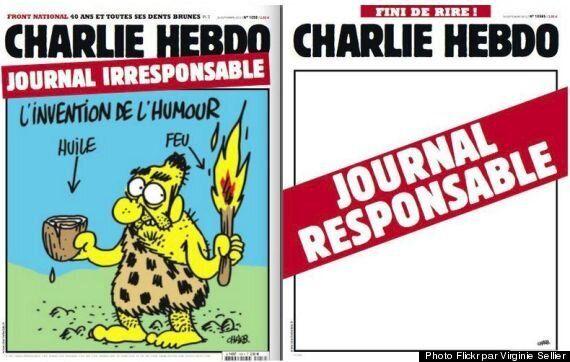 Découvrez les deux Unes de Charlie Hebdo, une
