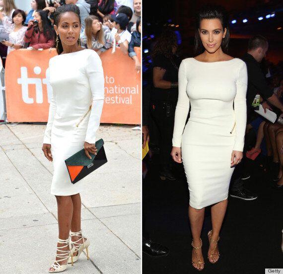 Jada Pinkett Smith et Kim Kardashian portent la même robe. Qui gagne le combat des looks?