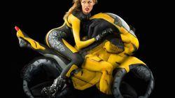 Des motos faites de femmes nues