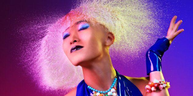Photos de Tim Tadder: les incroyables «Water Wigs», ou coiffures d'eau, du photographe!