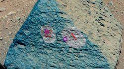 Une roche inhabituelle trouvée sur
