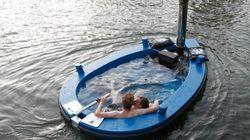 Montez dans le premier bateau-jacuzzi aux Pays-Bas