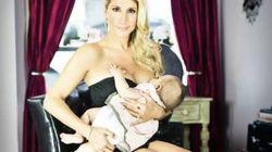Pour Mahée Paiement, allaiter, c'est glamour!