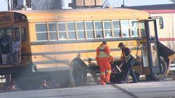 Accident d'autobus sur l'autoroute 15: blessés